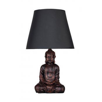 qdec Modern Dizayn Buda Abajur Bakır-Gri