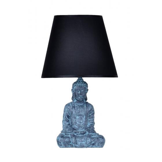 qdec Modern Dizayn Buda Abajur Antrasit-Siyah