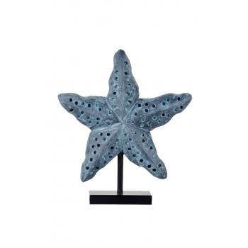 qdec Modern Dizayn Deniz Yıldızı Biblo Antrasit