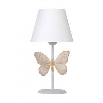 qdec Modern Dizayn Kelebek Abajur Beyaz Beyaz