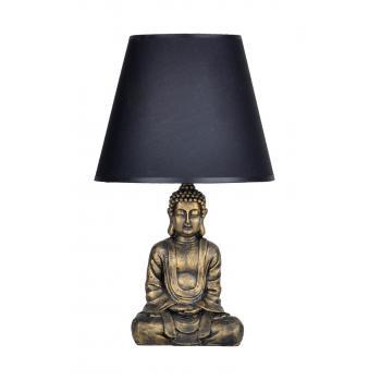 qdec Modern Dizayn Buda Abajur Gold-Siyah