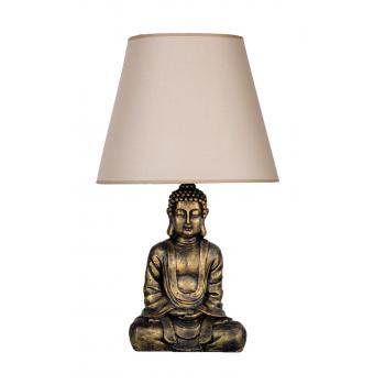qdec Modern Dizayn Buda Abajur Gold-Bej