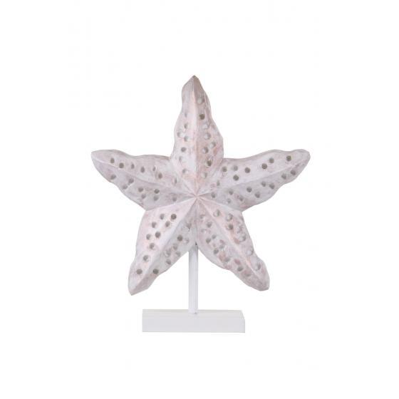 qdec Modern Dizayn Deniz Yıldızı Biblo Antik Beyaz