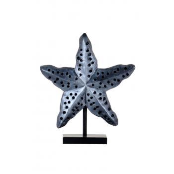 qdec Modern Dizayn Deniz Yıldızı Biblo Gümüş