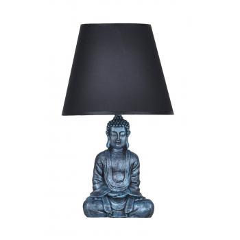 qdec Modern Dizayn Buda Abajur Turkuaz-Siyah
