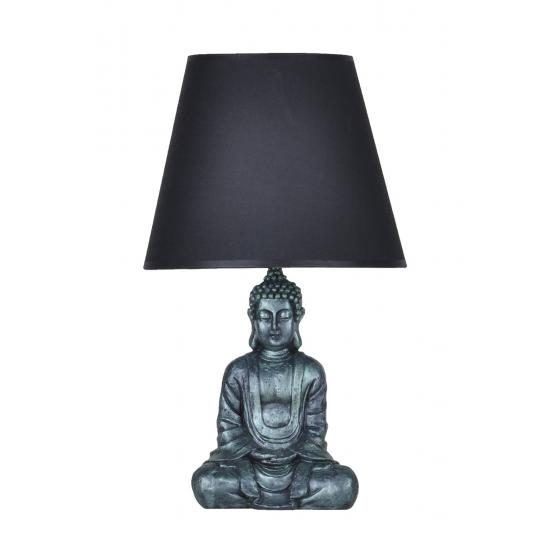 qdec Modern Dizayn Buda Abajur Yeşil-Siyah