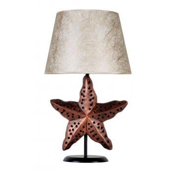 qdec Modern Dizayn Deniz Yıldızı Abajur Bakır Gold