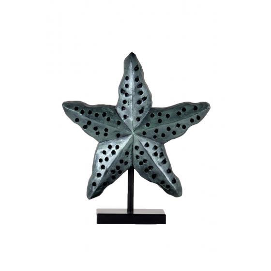 qdec Modern Dizayn Deniz Yıldızı Biblo Yeşil