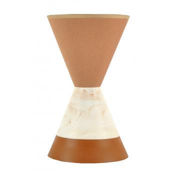qdec Modern Dizayn Mito Abajur Kahve Kahve