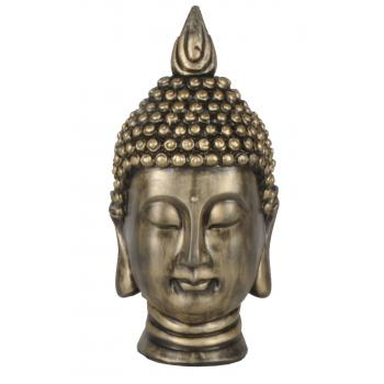 qdec Modern Dizayn Büyük Buda Biblo Gold