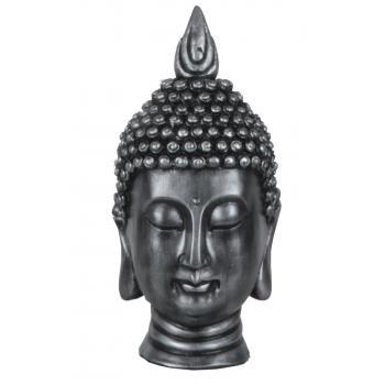 qdec Modern Dizayn Büyük Buda Biblo Gümüş