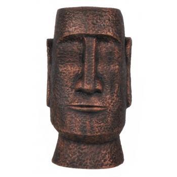 qdec Modern Dizayn Moai Biblo Bakır