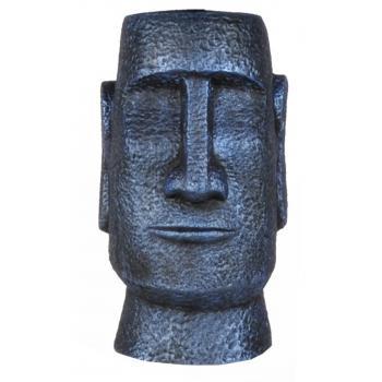 qdec Modern Dizayn Moai Biblo Cobalt