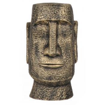 qdec Modern Dizayn Moai Biblo Gold
