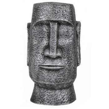 qdec Modern Dizayn Moai Biblo Gümüş