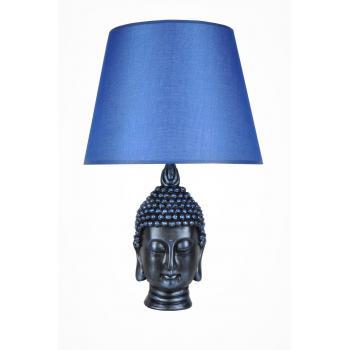 qdec Modern Dizayn Büyük Buda Abajur Cobalt Mavi