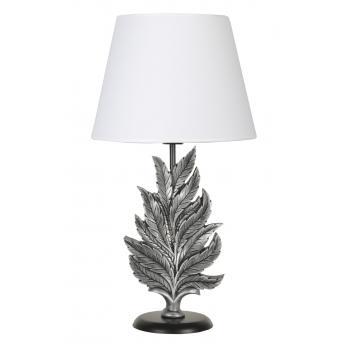 qdec Modern Dizayn Yaprak Abajur Gümüş Beyaz