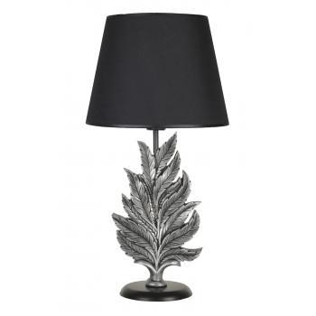 qdec Modern Dizayn Yaprak Abajur Gümüş Siyah